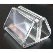 Card Holder Acrylic Clear