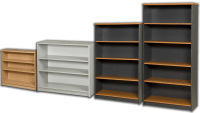 Bookcases - Australian Made - Various Colours Available