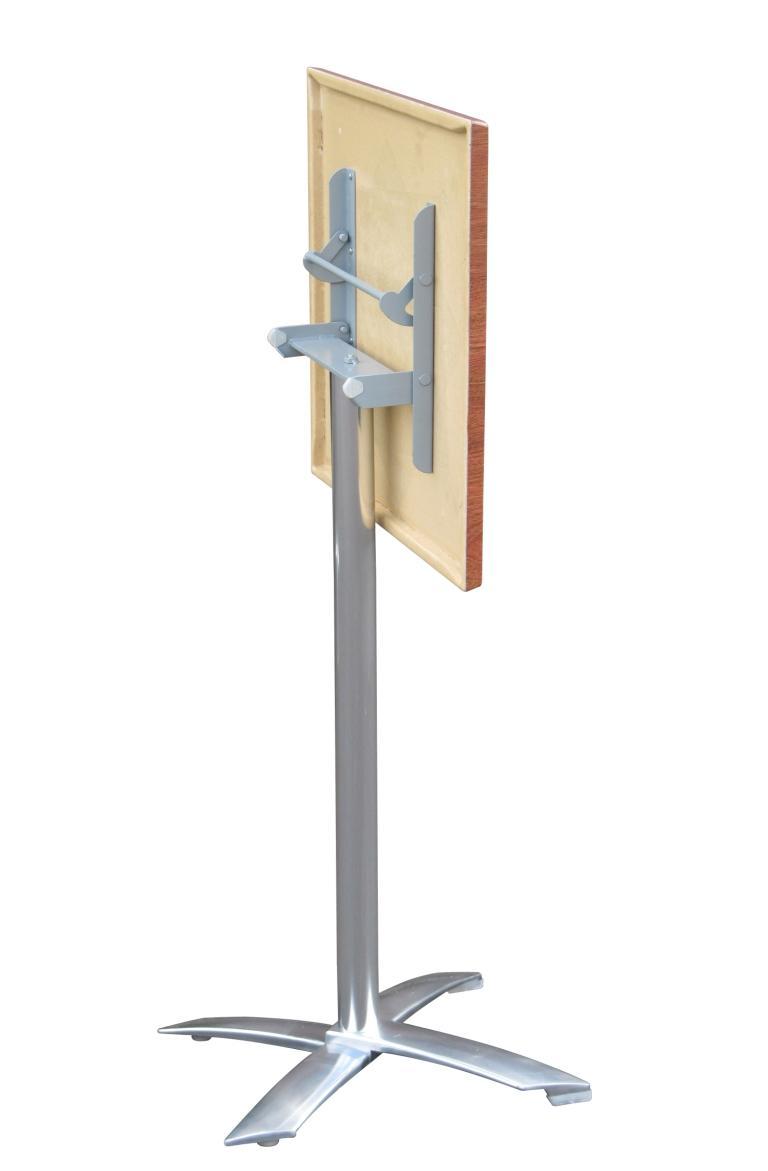 blitz folding bar height caf table absoe