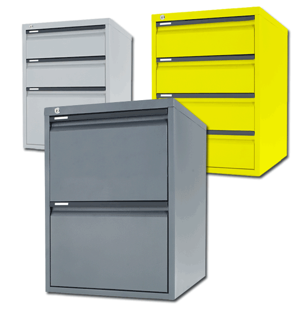 Australian Made Low Height Metal Filing Cabinet