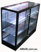 Small Glass Counter Showcase  - 1200 W