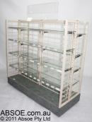 USED Mesh Gondola Island Shelving From $100
