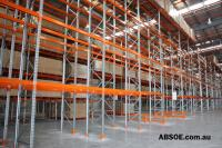 Selective pallet racking - For more information call (07) 3846 9976