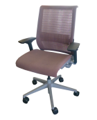 Clerical Chair - Chocolate - Mesh Back