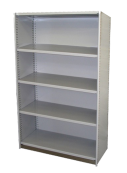 Rolled Upright Steel Shelving - With Backs